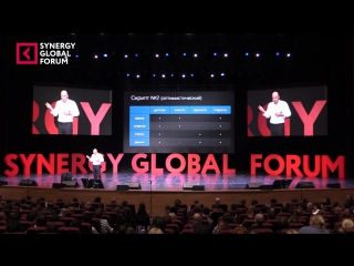 Радислав Гандапас Скрипты и алгоритмы успеха Synergy Global Forum 2015