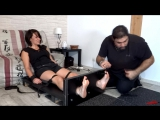 FrenchTickling - Minas Horribly Ticklish Feet Punished In The Stocks