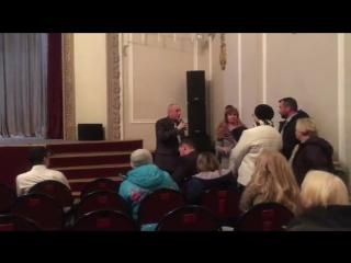 Выступление Ильи Васильева на Встрече с главой Администрации г.Дедовска