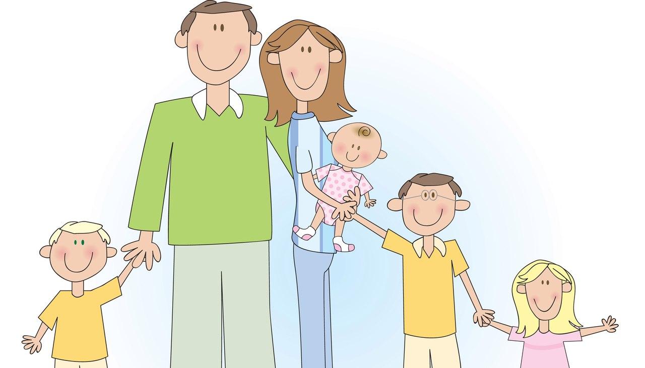 Схемы на тему семья дети