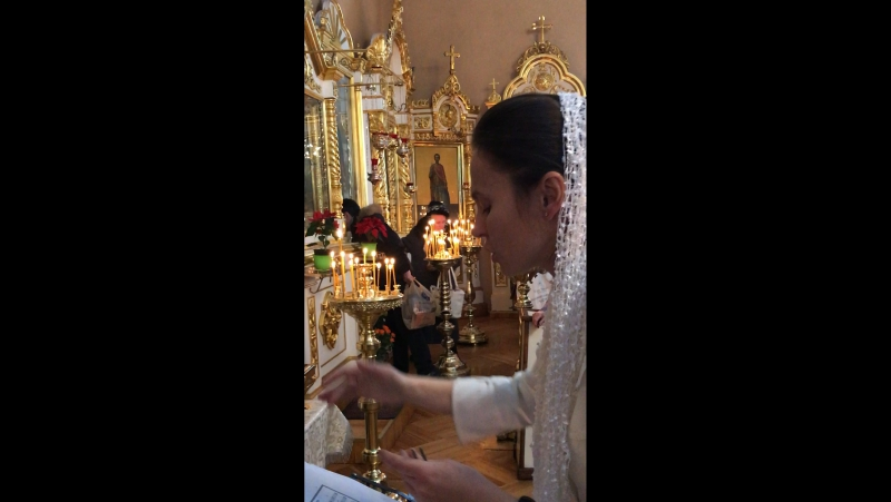 Любительский хор Церкви св.Димитрия Солунского в Коломягах