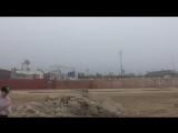 Туман с океана в полдень (Касабланка)