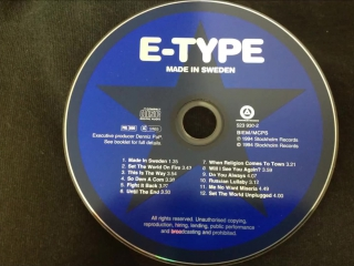 E-Type - Until The End (1994)