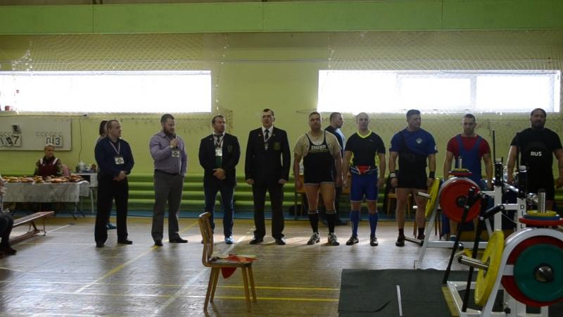 Открытый Кубок города Апатиты по жиму классическому среди ветеранов (мужчин 40).