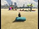 Из GTA 5 - баклан на пляже часть 2 !