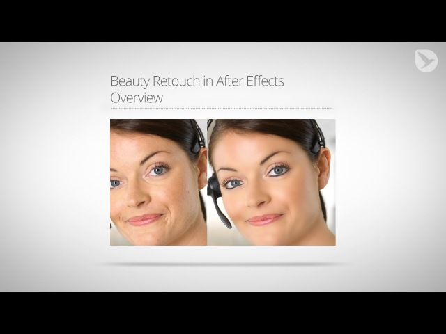 Beauty Retouch in Adobe After Effects - Free Plugin and Tutorial Series