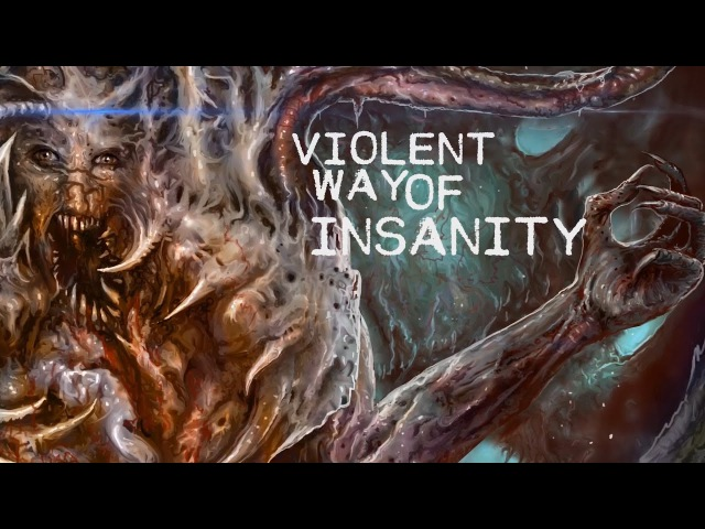 ASPHYXIATE - BLOOD FEAST RIPPING PUTRESCENT [OFFICIAL LYRIC VIDEO] (2017) SW EXCLUSIVE