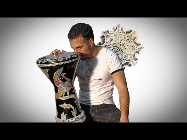 Mother of Pearl Sombaty Plus Darbuka - For Belly Dance Music