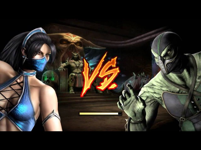 Mortal Kombat 9 Kitana Arcade Ladder Expert No Matches Rounds Lost