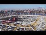 Строительство стадиона в Ростове-на-Дону (06.11.2016)