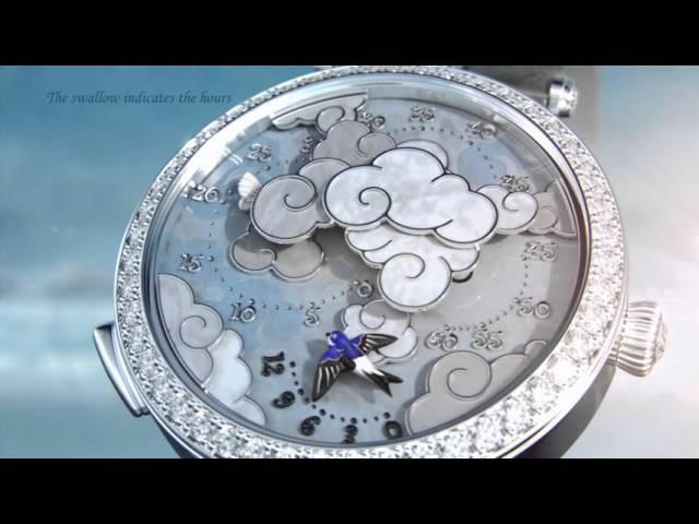 Lady Arpels Ronde des Papillons watch - Van Cleef Arpels