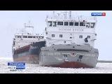 Азовское море сковало льдом