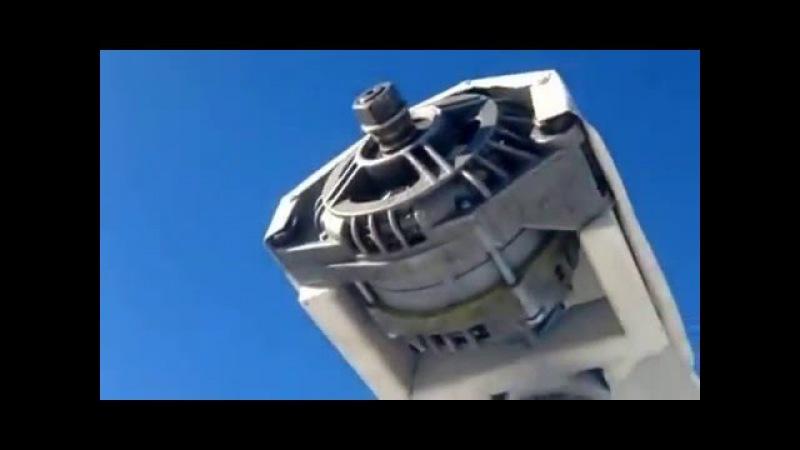 Ветряк из автогенератора The windmill of the oscillator