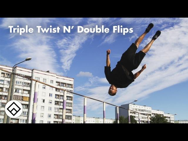 Triple Twists, Double Flips, 1 Sick Session | Team Farang Tour 2017