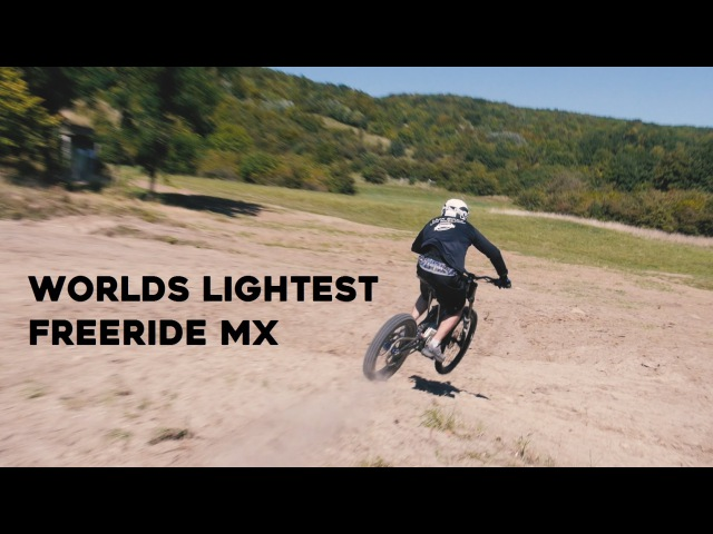 Project LMX - Worlds lightest freeride motorcycle