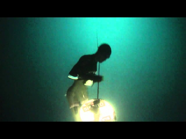 Unassisted freediving world record - 95m (311 feet). by William Trubridge