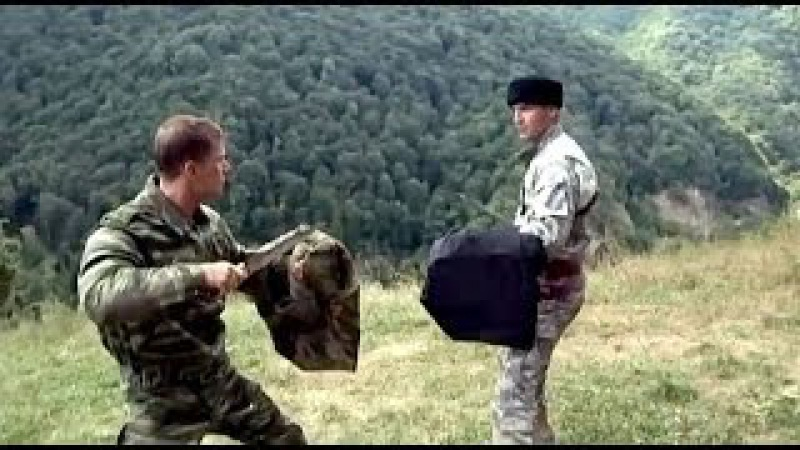 Стреляющие горы, финальный поединок, чеченец и русский