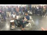 Derbouka &amp Tam-tam street performance  StreetMusicShow