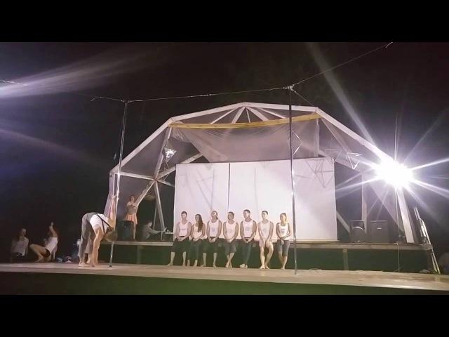 Выступление презентеров Pole Dance Camp _ NN 2016