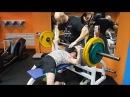 Дрищи на массе №7. Жим лежа 100 кг! Форсированные повторения для мышечной массы и силы