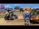 Три трактора вылетели с трассы на первом заезде на Бизон Трек Шоу в Ростове