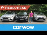BMW X5 vs Mercedes GLE vs Lexus RX review  Head2Head