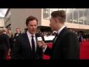 Бенедикт на красной дорожке BAFTA 2017