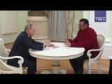 Владимир Путин вручил Стивену Сигалу российский паспорт