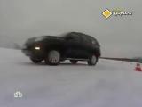 Как безопасно войти в поворот на зимней дороге