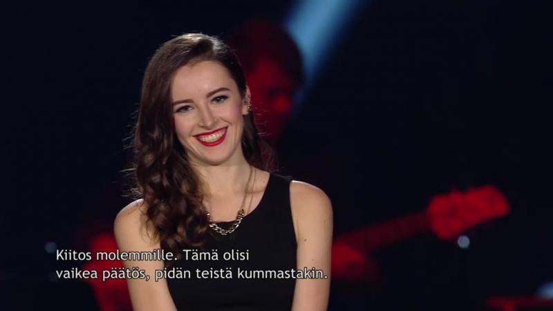 Iara Dias Dos Santos, Maria Kharlamova - Love Me Like You Do (Ellie Goulding-cover) (Nelonen, SD, S6,E15,24.02.2017) (Битвы 3)