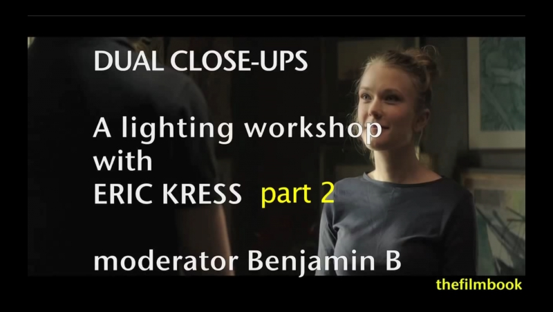 Lighting Workshop with Eric Kress Part 2