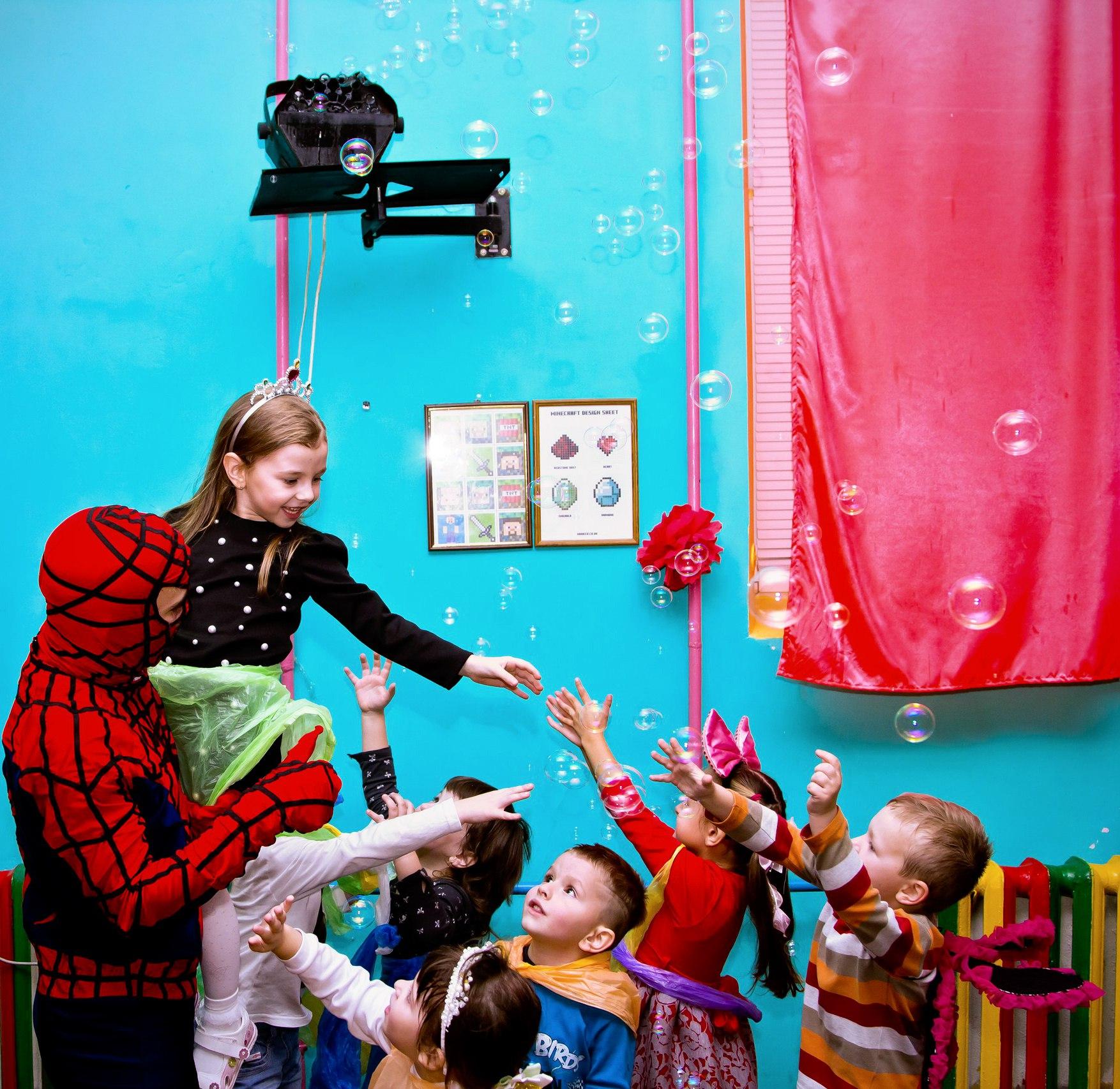детский праздник человек паук заказать в запорожье