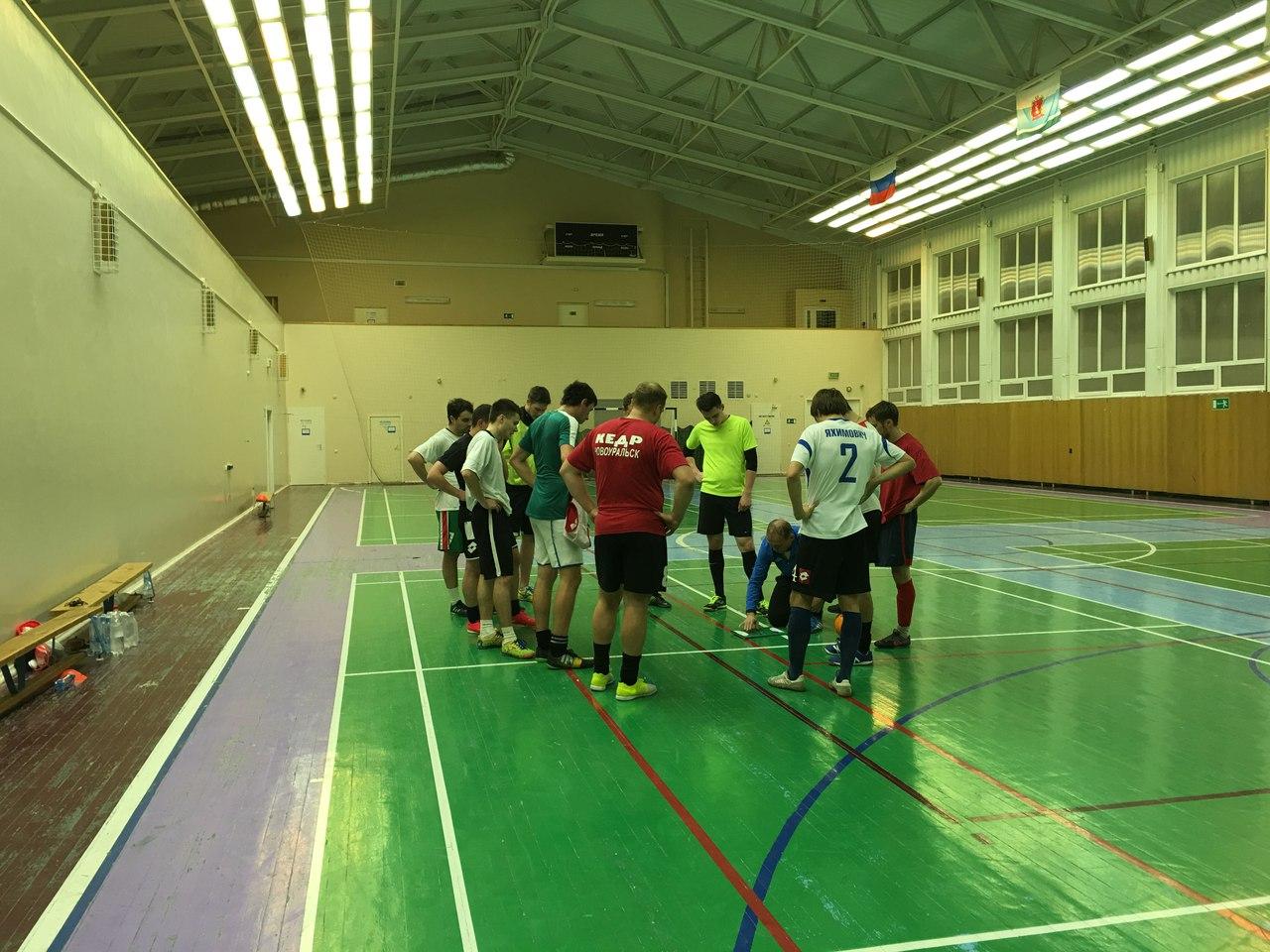 Мини-футбольная команда