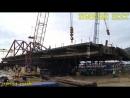 КРЫМСКИЙ МОСТ ПОЕХАЛ НА ПРОЛИВ. МАЙДАНУТЫМ НЕ СМОТРЕТЬ! Crimean bridge to go to sea