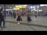 Железный Ирокез - Авдотья (уличные музыканты. Питер)