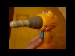 Не очень сексуальная игрушка [Видео из 100500]