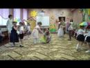 Танец с зонтиками. Утренник в д.саду. 02.03.17.