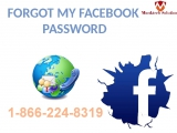 Recover Facebook Password, and then I call on 1-866-224-8319 &amp flush away all my problems