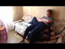 Друзья для Егора готовы на всё, диванной подушкой побыть для него .