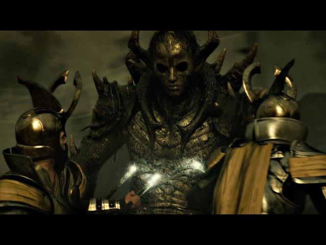 Малекит пытается разрушить миры Битва воинов Асгарда и Темных Эльфов Тор 2 Царство тьмы
