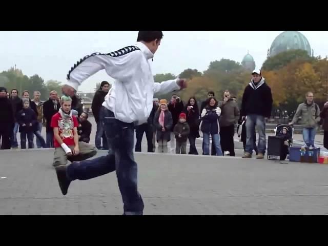 """Еврейский танец """"7 ׃40"""" Remix Немцы танцуют 7.40 ? или их заставили ))"""