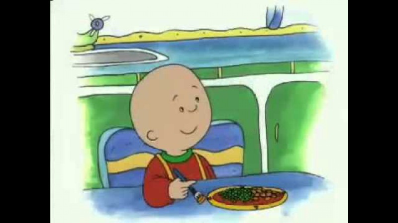 Caillou Hates Vegetables; Caillou All Alone