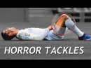 Cristiano Ronaldo Horror Tackles Brutal Fouls 2016