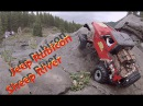 RC CWR Axial SCX-10 Jeep Rubicon takes on the Sheep River
