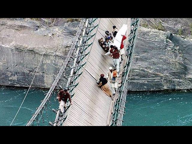 Этот Мост, Погубил Тысячи Людей | 15 Самых Страшных Мостов в Мире