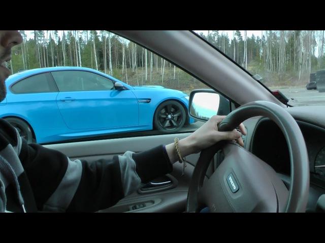 Volvo S40 T4 Autotech 420hp vs BMW M3 420hp