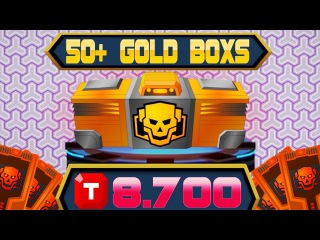 [SuperMechs] SPEND 8.700 TOKENS!!! OPENIING OVER 50 GOLD BOXES!!!