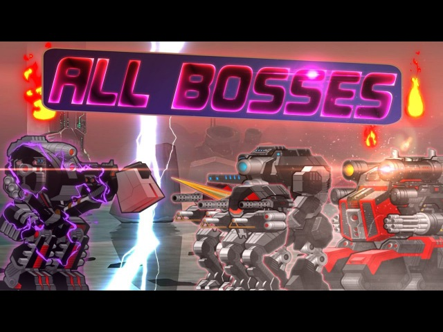 [SuperMechs] DEFEATING ALL BOSSES