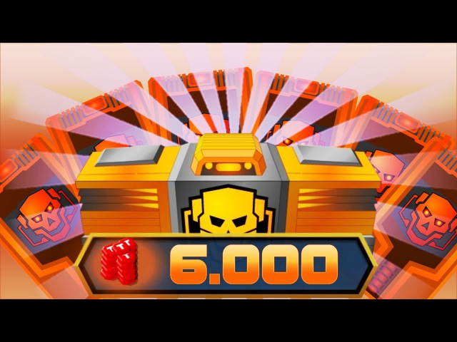 [SuperMechs] OPEN GOLD BOXES FOR 6.000 TOKENS