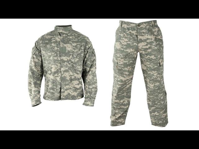 Армейская форма Army Combat Uniform ACU Ripstop
